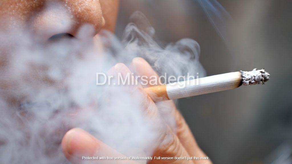 مصرف سیگار و سرطان